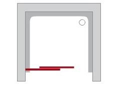 Posuvné sprchové dvere