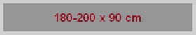 Obdĺžnikové vane 180/185/190/200 x 90 cm