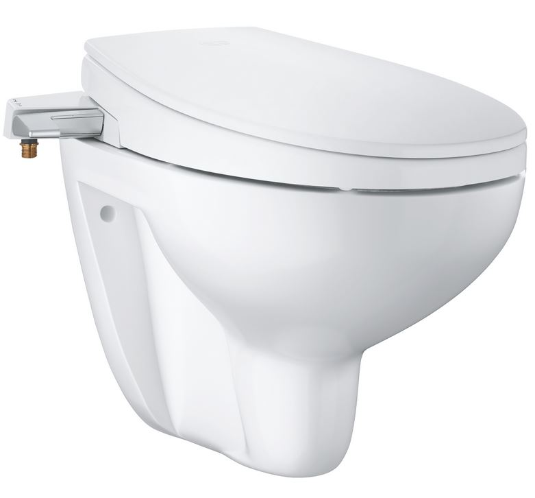 Grohe BAU CERAMIC WC misa Rimless+ bidetové sedátko SoftClose