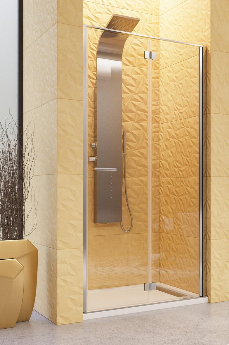 Aquatek YES B8 zalamovacie sprchové dvere 80-100 cm