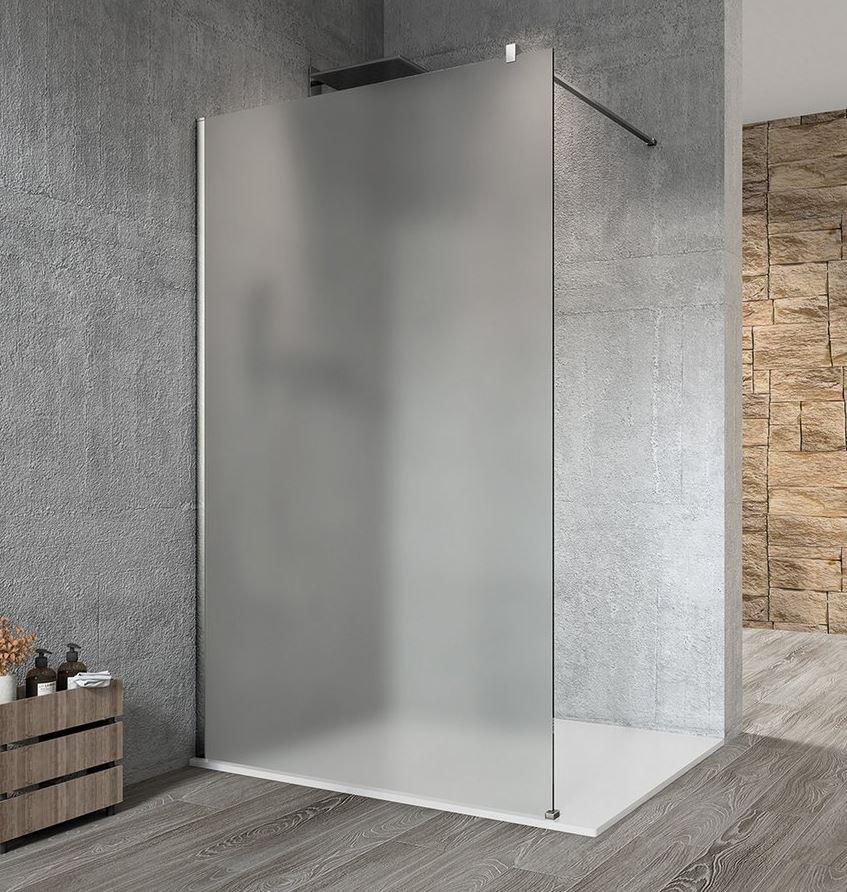 Gelco VARIO CHROME WALK IN sprchová zástena 70-140 cm matná
