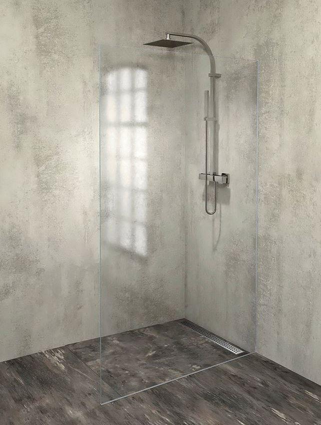 Polysan ARCHITEX LINE WALK-IN sprchová zástena s neviditeľným uchytením 80-120 cm