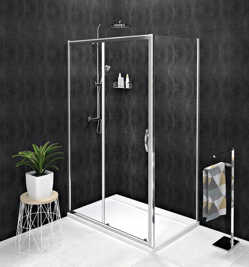 Gelco SIGMA SIMPLY obdĺžnikový sprchový kút 100-140 x 70-100 cm číre sklo
