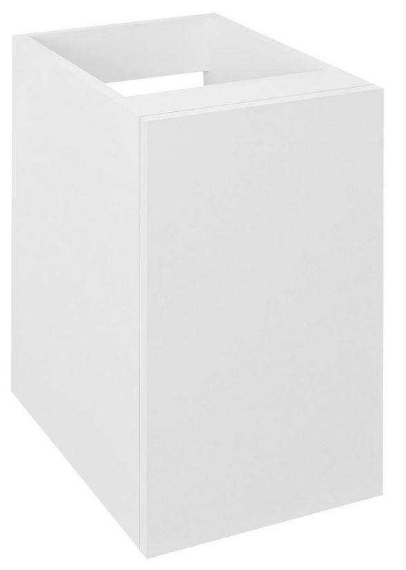ODETTA spodná skrinka s dvierkami 30 cm biely lesk
