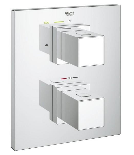 Grohe GROHTHERM CUBE 3000 termostatická vaňová batéria podomietková