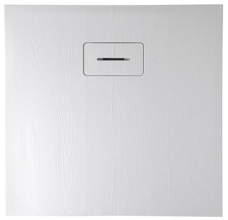 AMAR štvorcová sprchová vanička z liateho mramoru 90x90cm
