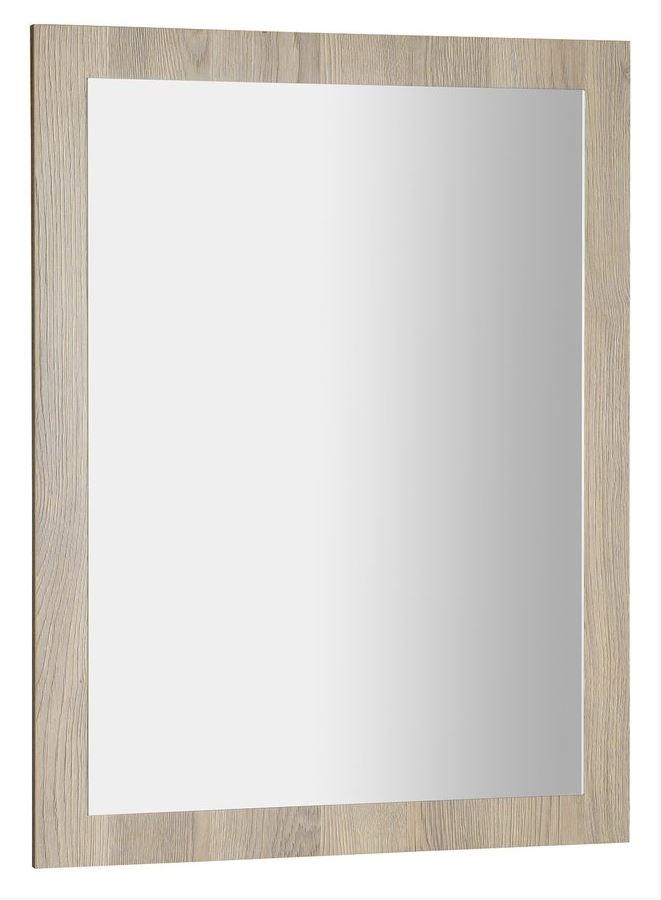AMIA zrkadlo v ráme 60x80 cm dub Texas