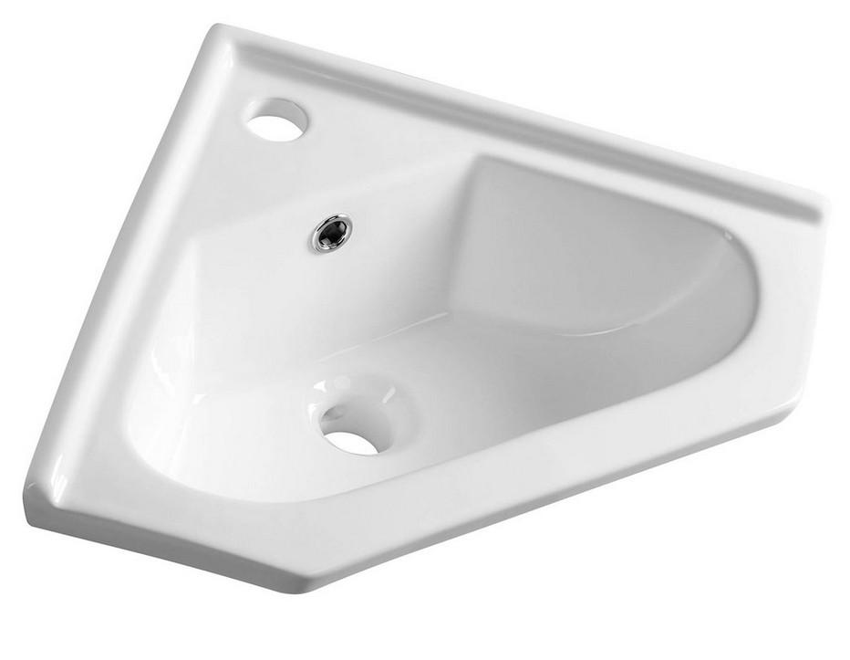 Aqualine rohové umývadlo 40 cm