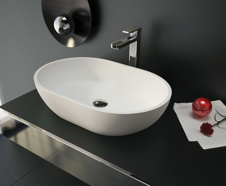Aquatek LOTUS umývadlo na dosku 59 cm