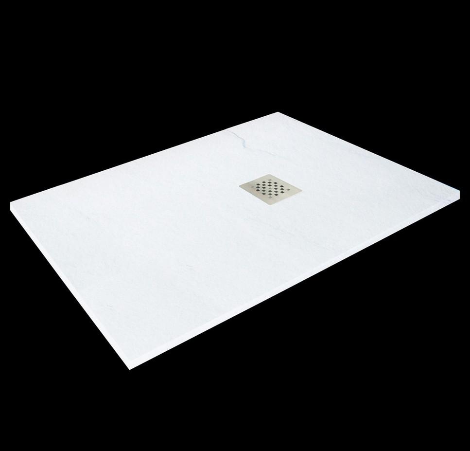 Aquatek TOP obdĺžniková sprchová vanička 100x70-80 cm biela