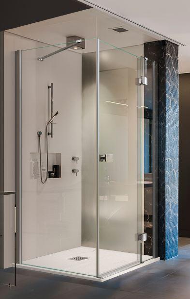Aquatek štvorcový sprchovací kút SMART A3 90 cm