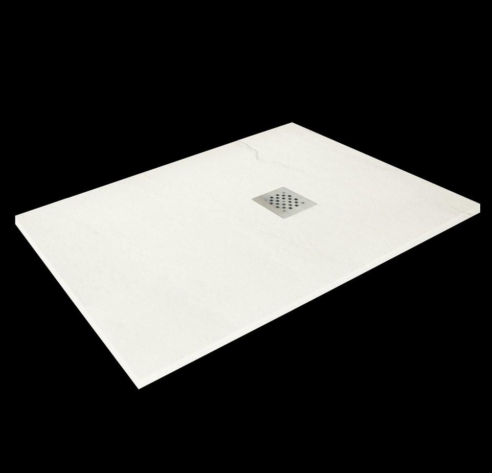 Aquatek TOP obdĺžniková sprchová vanička 100x70-80 cm krémová