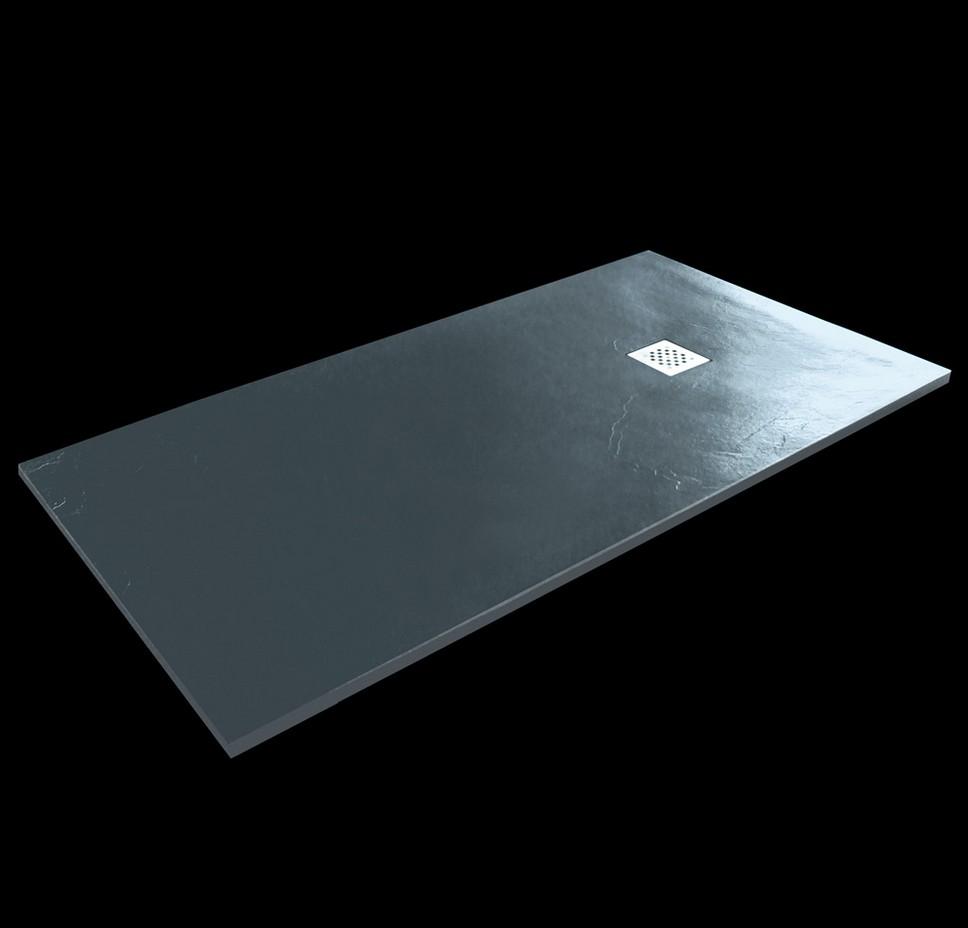 Aquatek TOP obdĺžniková sprchová vanička 140x80-90 cm čierna