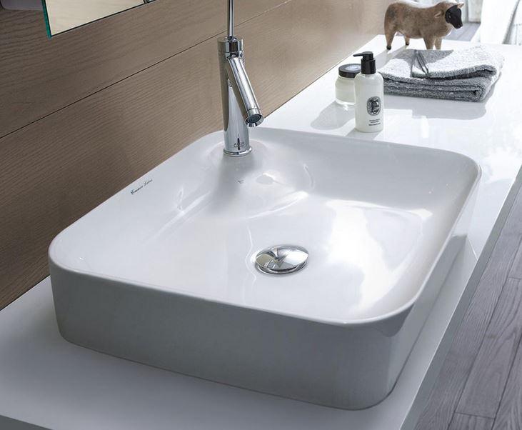 Aquatek umývadlo na dosku POLIS 43 cm