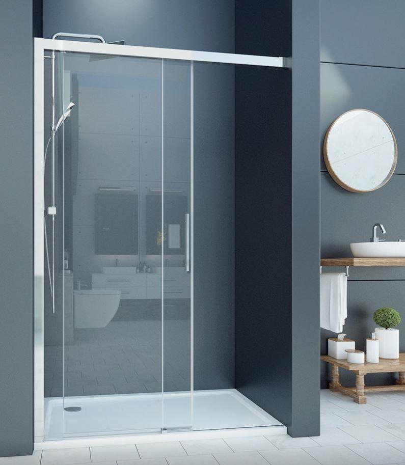 Aquatek WELLNESS B2 sprchové dvere Soft-Close 110-160 cm