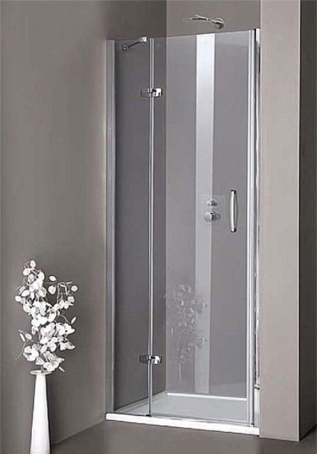 Huppe AURA jednokrídlové sprchové dvere do niky 90 cm, upevnenie vľavo STN90 L