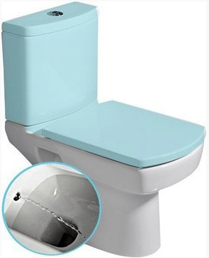 BASIC kombi WC s bidetovou tryskou