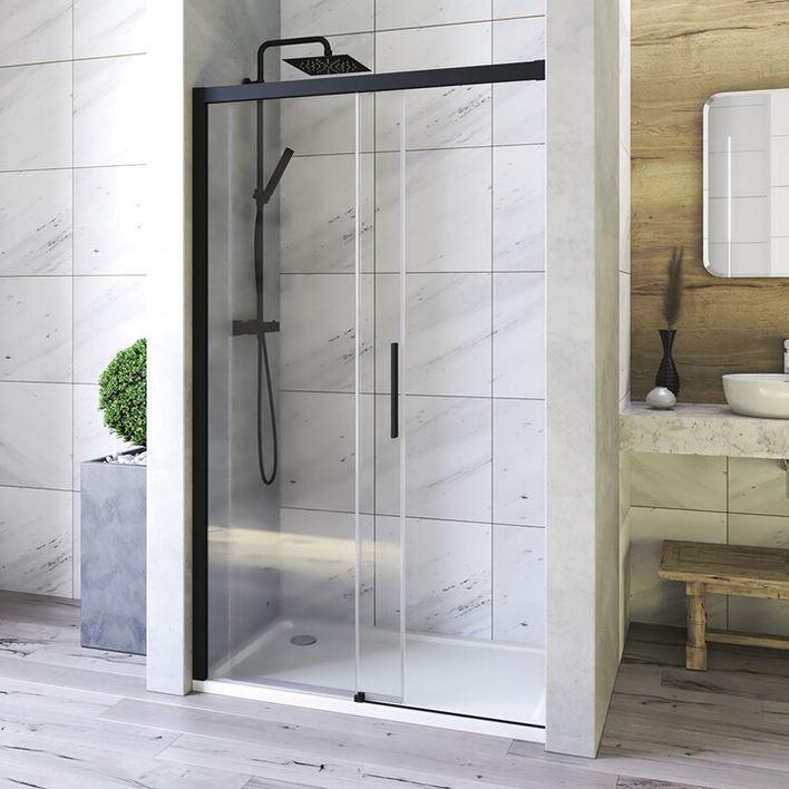 Aquatek WELLNESS BLACK B2 sprchové dvere Soft-Close 100-120-160 cm