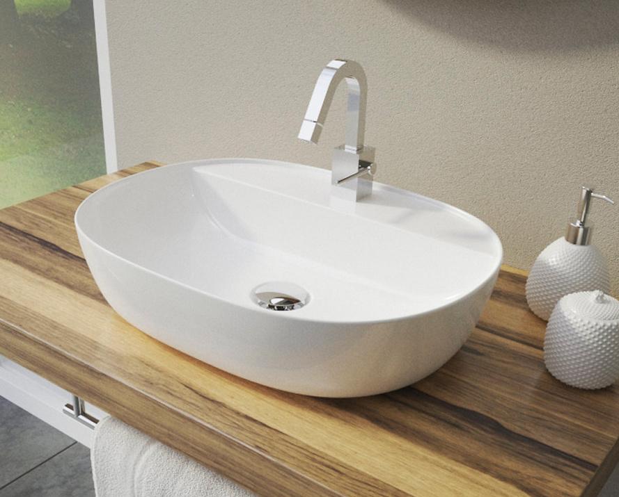 Ceramica Latina ALFA2 umývadlo na dosku 50 cm