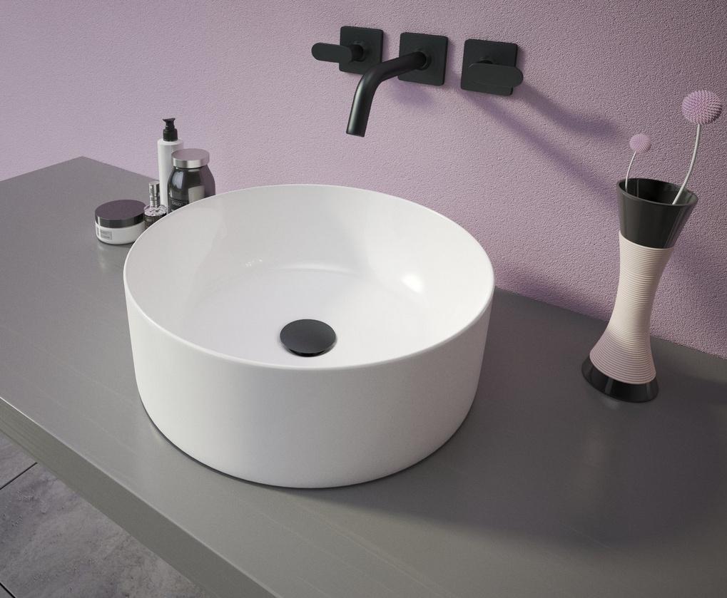 Ceramica Latina RING umývadlo na dosku 40 cm