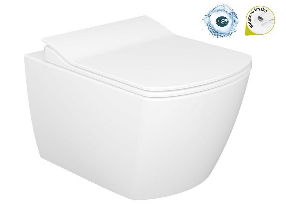 Creavit WC+bidet 2v1 závesný ELEGANT