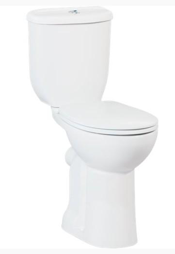 Creavit HANDICAPPED kombi WC+bidet 2v1 zvýšené