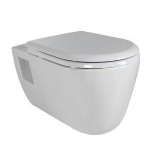 Creavit TEKKO závesné WC+bidet 2v1 TP328 predĺžené
