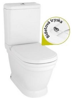 Creavit ANTIK kombi WC+bidet 2v1