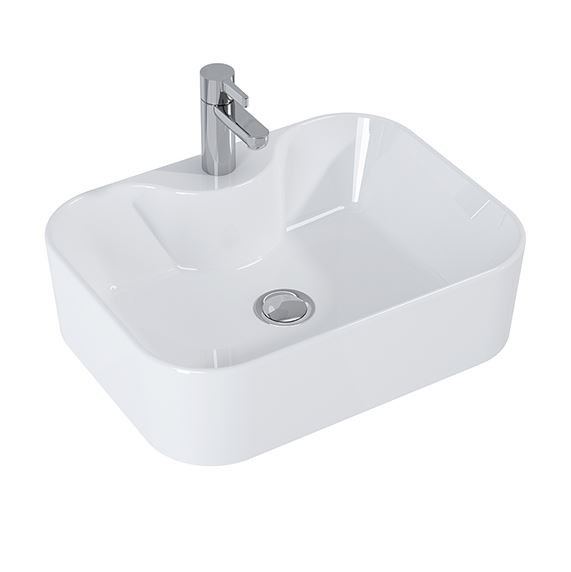Drop ROSE umývadlo na dosku 50 cm