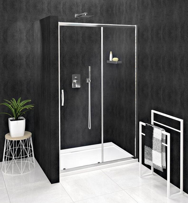 Gelco SIGMA SIMPLY posuvné sprchové dvere 100-140 cm číre sklo