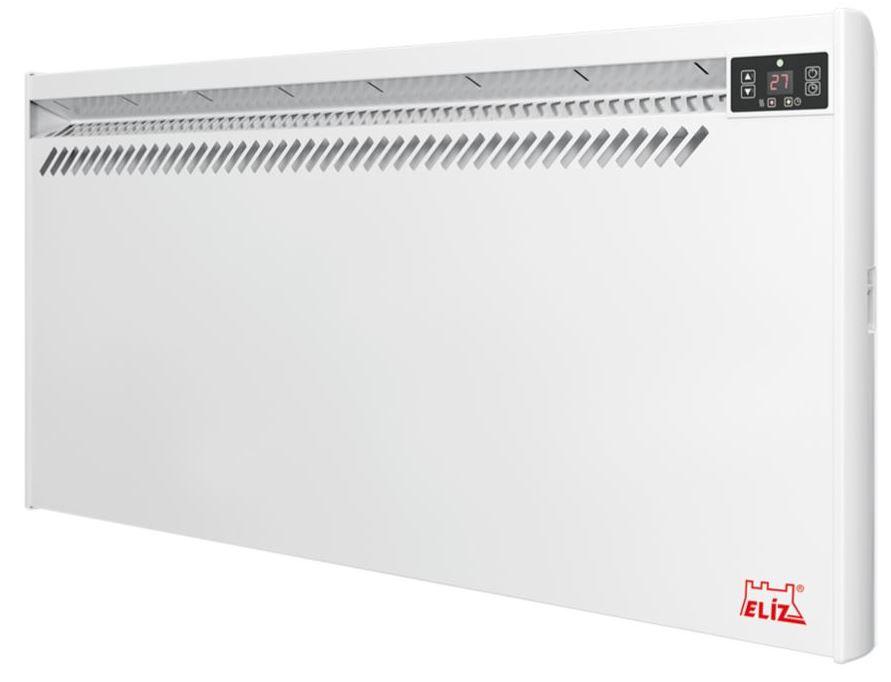 Eliz priamo-vykurovací elektrický nástenný konvektor EL3000 W, 2500W, 2000W, 1500W, 1000W