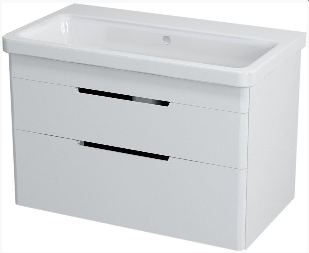 ELLA skrinka s umývadlom 80 cm biela