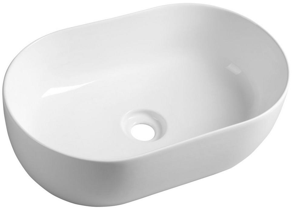 ETELA oválne umývadlo na dosku 55 cm