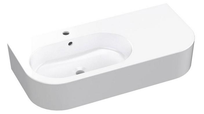 FLO keramické umývadlo 90 cm biele