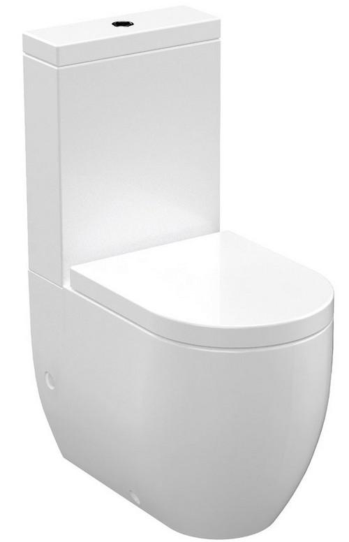 FLO WC misa kombi s nádržkou a sedátkom SoftClose