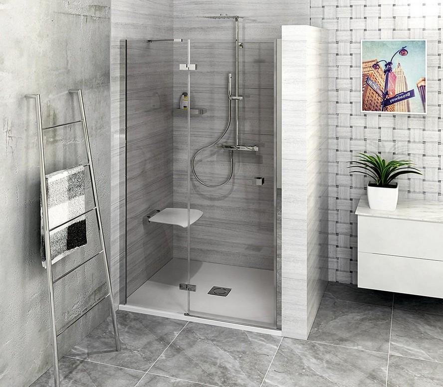 FORTIS LINE sprchové dvere do niky 80-100-120-150 cm pravé