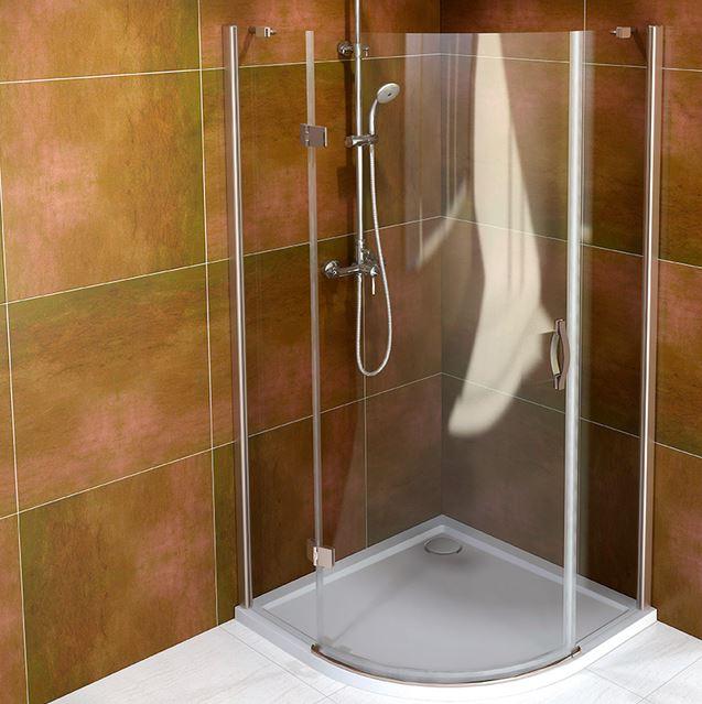 Gelco LEGRO štvrťkruhový sprchový kút 90 cm