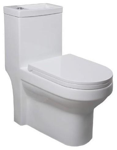 HYGIE kombi WC s umývadlom + WC sedátko SoftClose