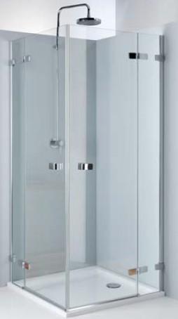 Kolo NEXT štvorcový sprchový kút 80/90 cm