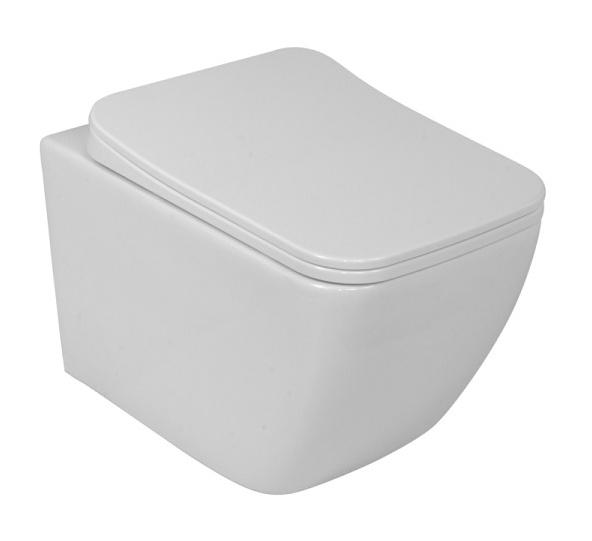 Lavita LINO WC misa závesná Rimless + sedátko SoftClose