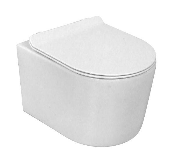 Lavita LOSO WC misa závesná Rimless + Slim sedátko SoftClose