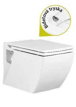 Creavit LEA závesné WC+Bidet 2v1
