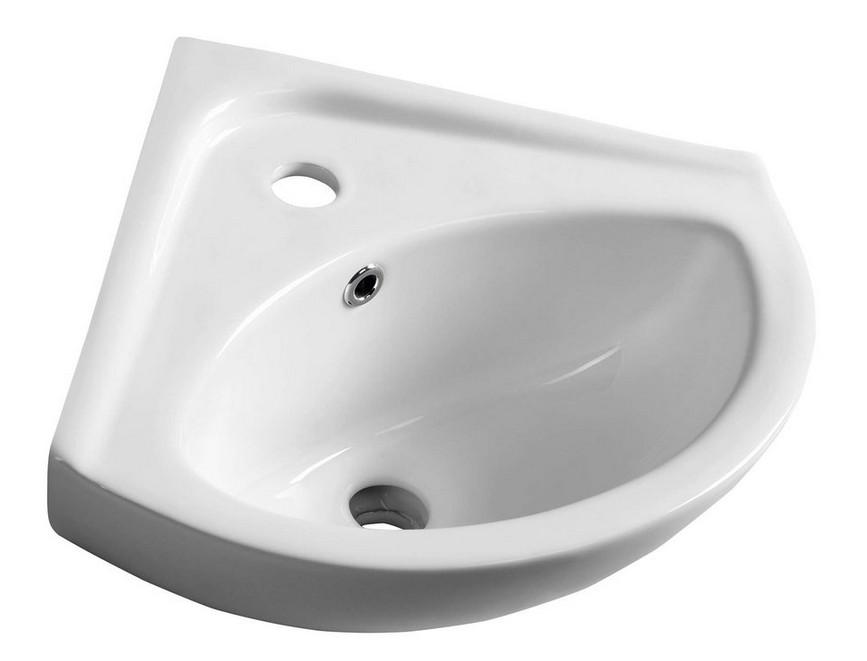 Aqualine LUIGI rohové umývadielko 35 cm