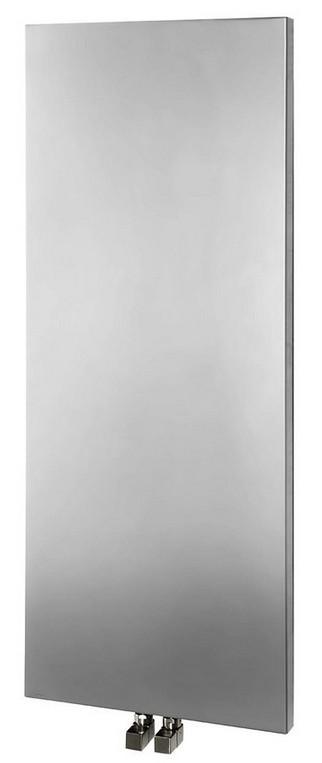 MAGNIFICA kúpeľňový radiátor 45 cm strieborný