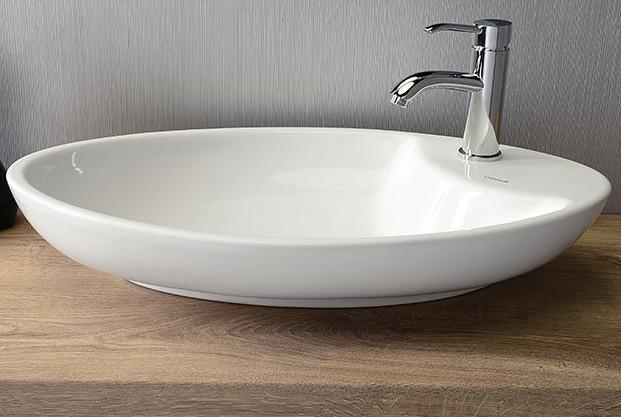 MINIMAL umývadlo na dosku oválne 65 cm