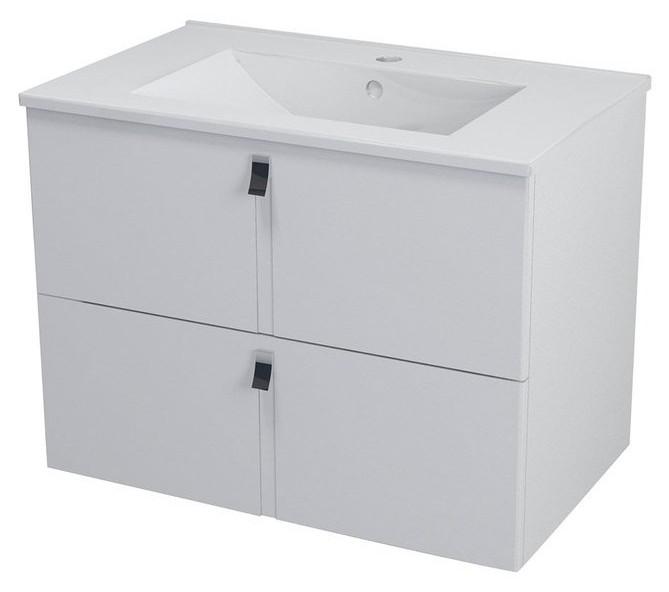 MITRA skrinka s umývadlom 75 cm biela