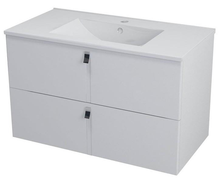 MITRA skrinka s umývadlom 90 cm biela