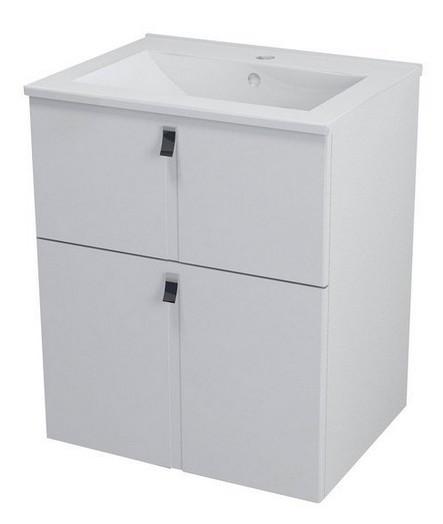 MITRA skrinka s umývadlom 60 cm biela