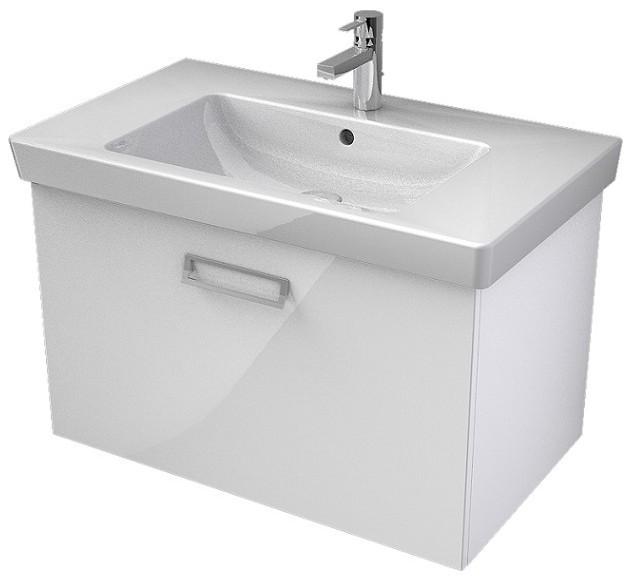 My Bath MYSWAY 2.0 umývadlová skrinka 80 cm s 1 zásuvkou biela