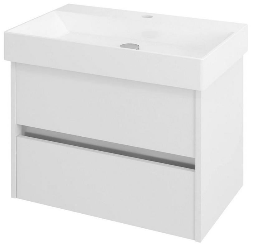 NIRONA skrinka pod umývadlo 70 cm biela